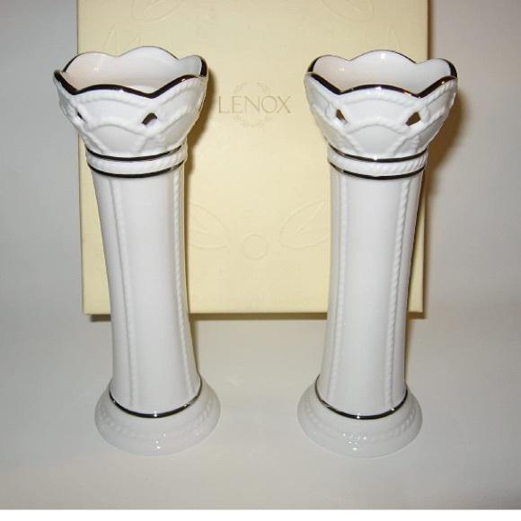 Lenox Other - NWB. Lenox Artiste candlestick pair